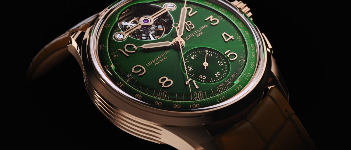 breitling bentley chronograph tourbillon limited edition red gold