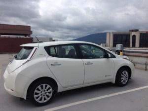Green Commuter Nissan LEAF