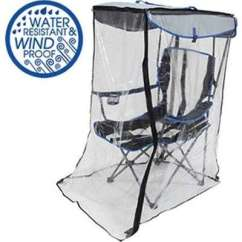 Fishing Chair Rain Cover Executive Parts Names Provantage Swimways 80174 Kelsyus Canopy Ws Say Goodbye To Wind And Ruining Your Outdoor Activities With The Original Weather Shield This Camping Features
