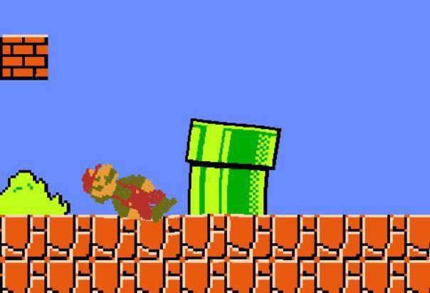 Já pensou em jogar Super Mario sem as leis da física?