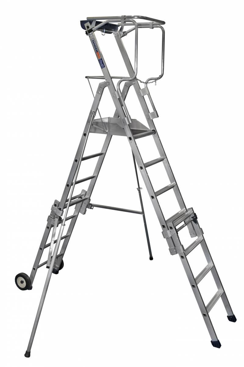 Plate forme duarib telescopique pir tandempro xt5 xt7 xt9