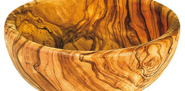 Bol en bois d'Olivier 32 cm de diamètre