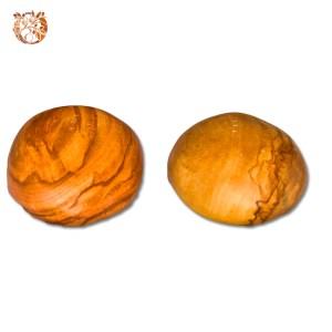 Galets sel et poivre en bois d'olivier
