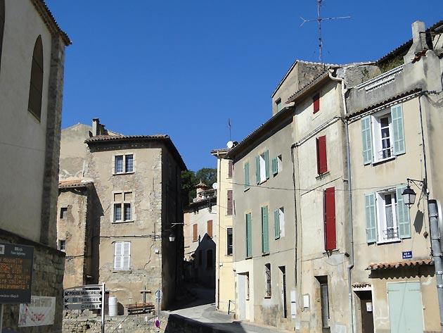 Photo Rue du village de Bras