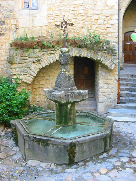 Photo Fontaine En Provence Au Crestet