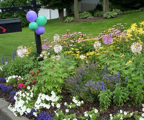 create mailbox garden