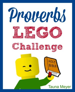 Kids learn the Proverbs while playing with Legos!