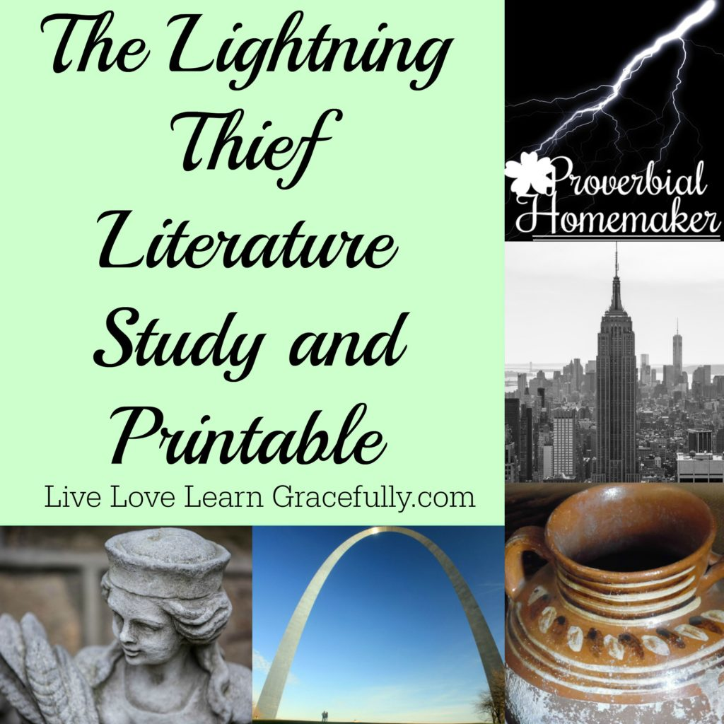 Lightning Thief Unit Study Printable
