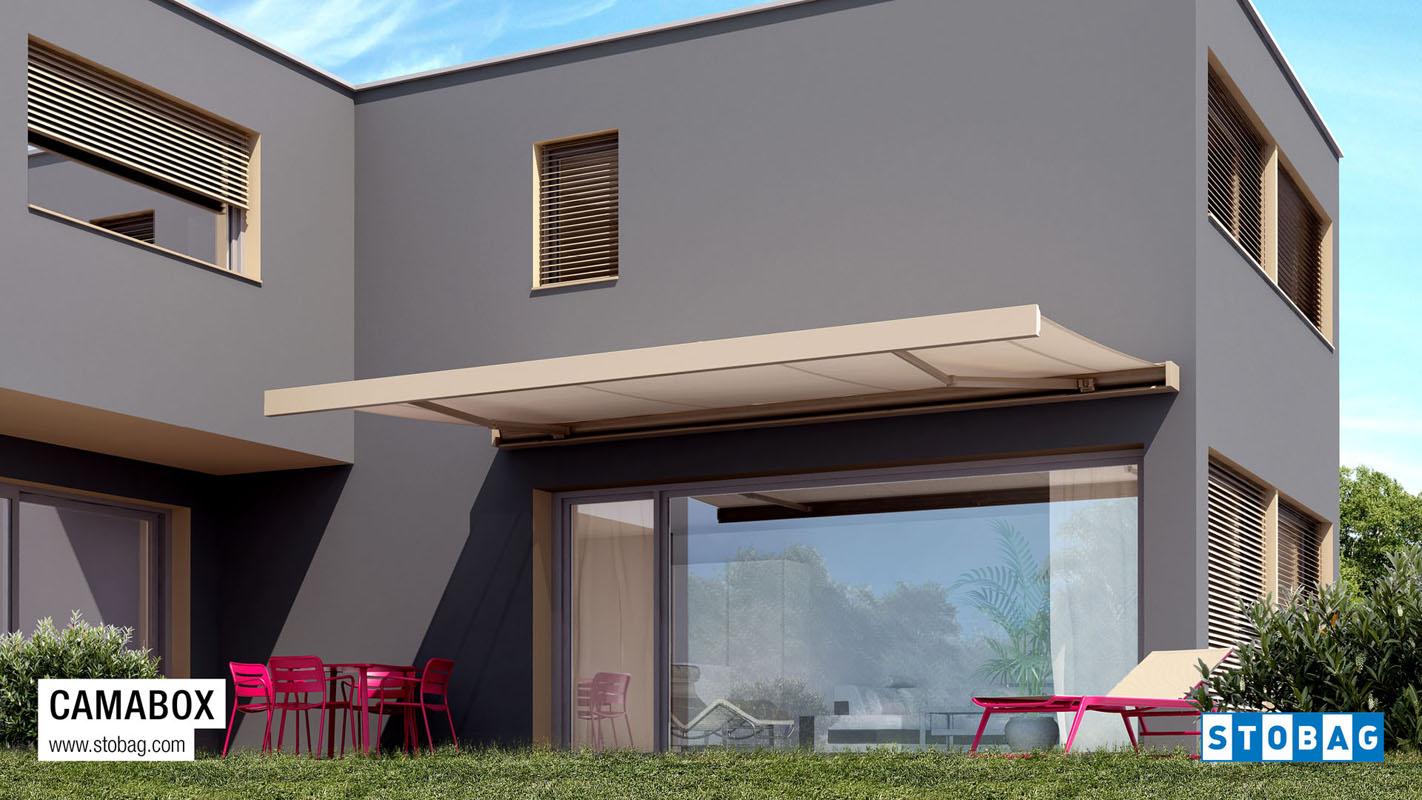 Le tende verticali possono essere a comando manuale o motorizzato, e sono disponibili in una vasta gamma di tessuti filtranti e oscuranti. Tende Per Esterno Ispra Proverbio Outdoor Design