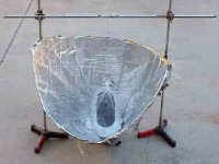 Solar Funnel Cooker/Cooler