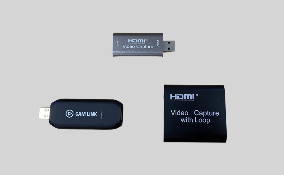 Inexpensive HDMI capture sticks solve camera shyness types 1, 2 & 3 in many cases 39