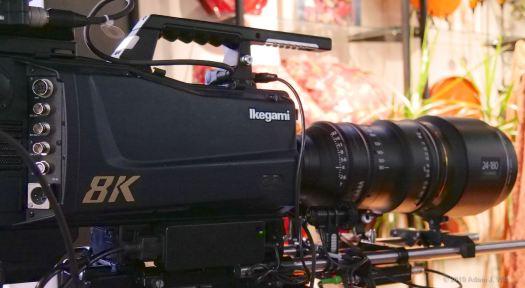 Ikegami 8K broadcast camera