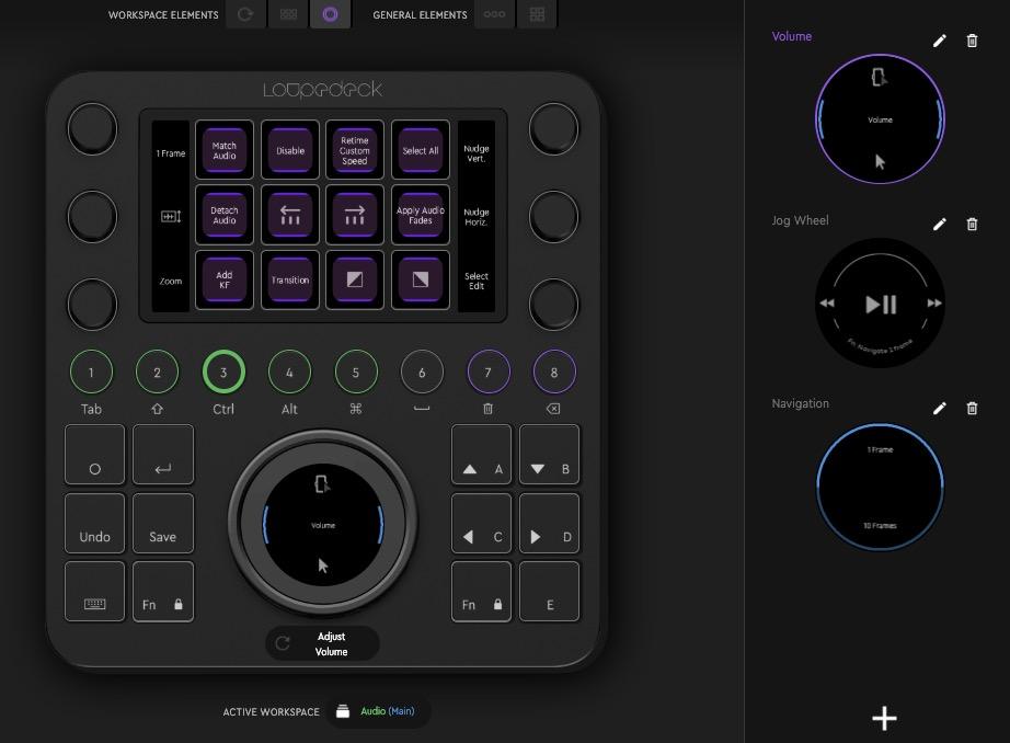 loupedeck-audio-workspace