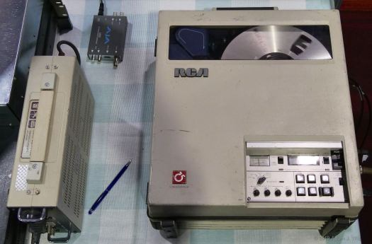 Late-70s RCA TH-50A 1' Type C VTR