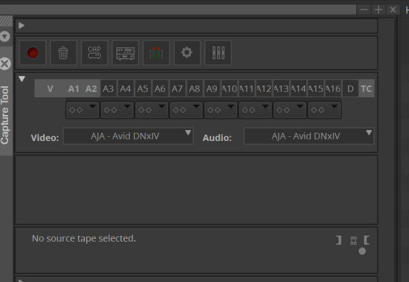 AJA Io 4K Plus Media Composer Capture Tool