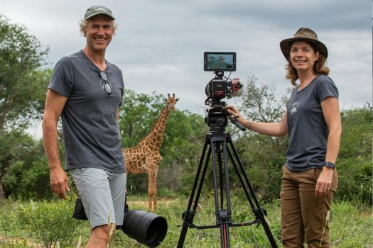 Noa Koefler and Hannes Lochner: a passion for wildlife