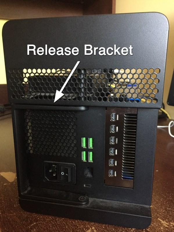 Core X Chroma Release Bracket