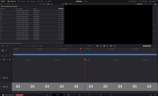 Review: DaVinci Resolve Speed Editor Part 2 - Multicam and Multi-camera Editing 45