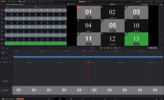Review: DaVinci Resolve Speed Editor Part 2 - Multicam and Multi-camera Editing 46
