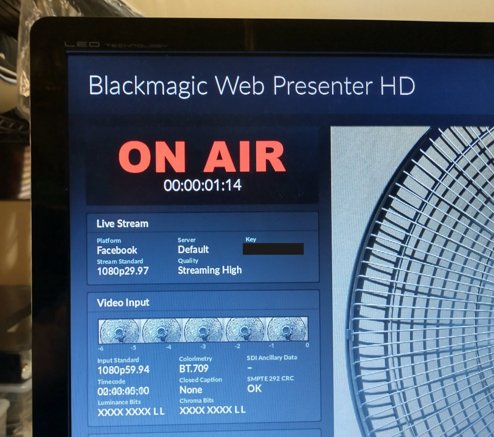 Review: Blackmagic Web Presenter HD streaming encoder + shyness fixer 26