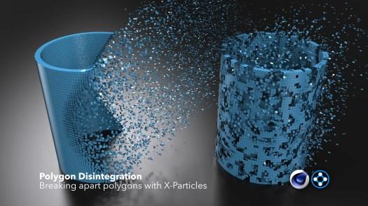 polygon disintegration