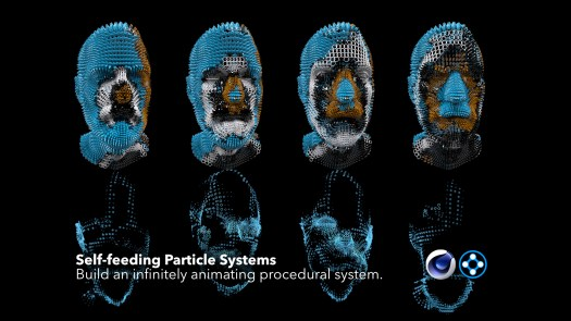 self-feeding particles