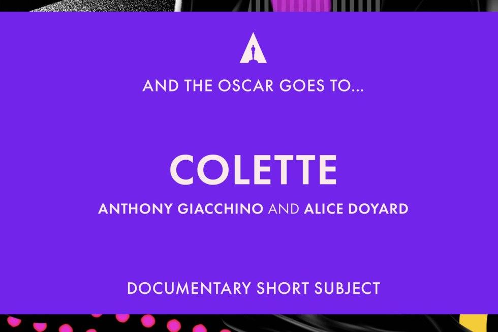 Colette: how a video game company won an Oscar
