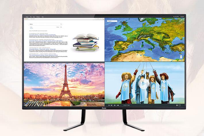 iiyama ProLite X4372UHSU: a new 43-inch 4k monitor