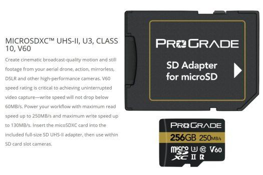 ProGrade Digital improves its microSD line of memory cards