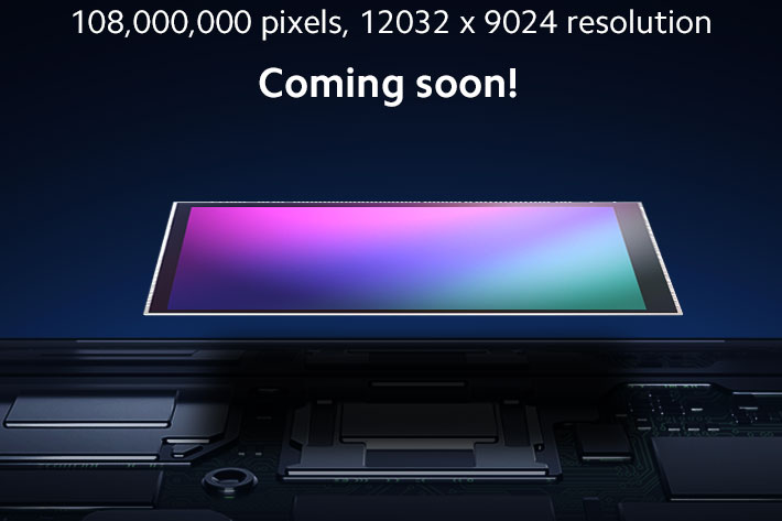 Canon and Sony, step aside: Samsung has a 108 megapixel sensor