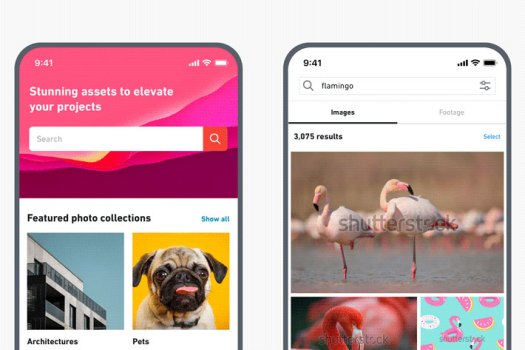 Shutterstock: footage library now available for mobile users