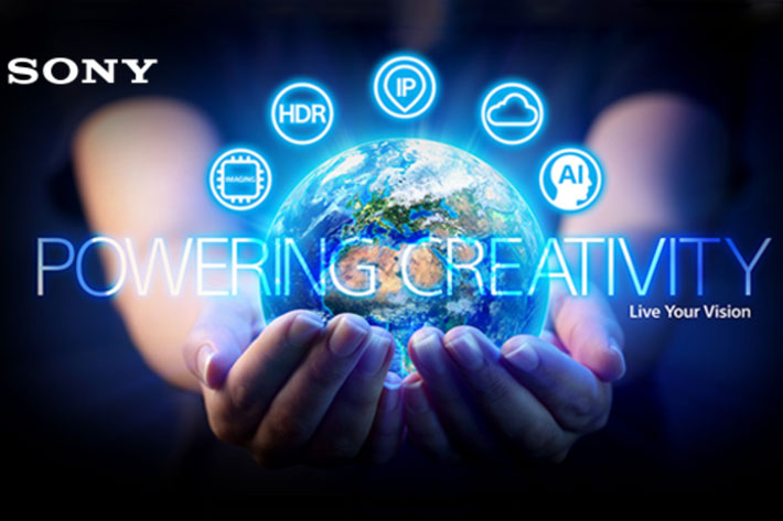 Sony's innovations for NAB Show 2020 will be revealed online