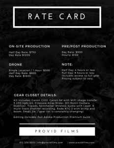 rate-card-videography-pricing-provid-films-mn