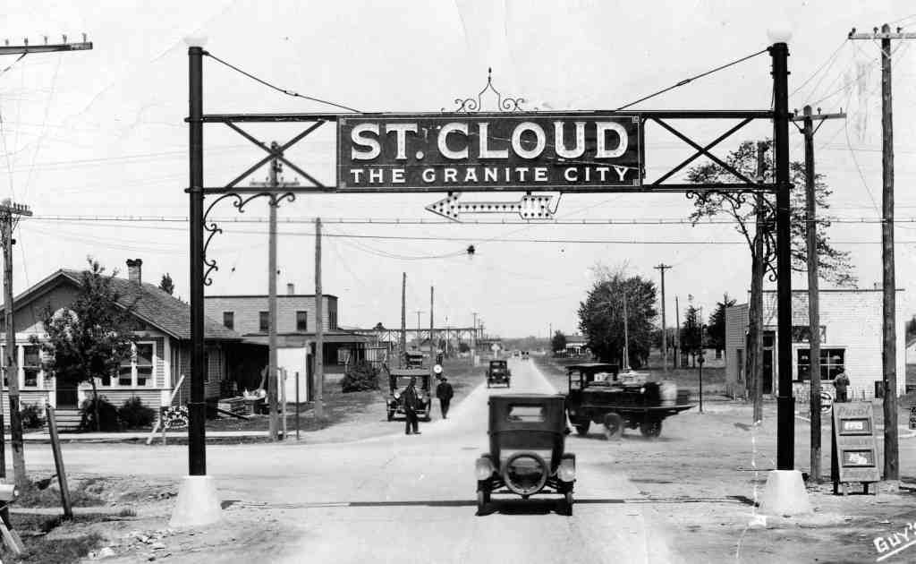 Historic photographer image of St Cloud MN