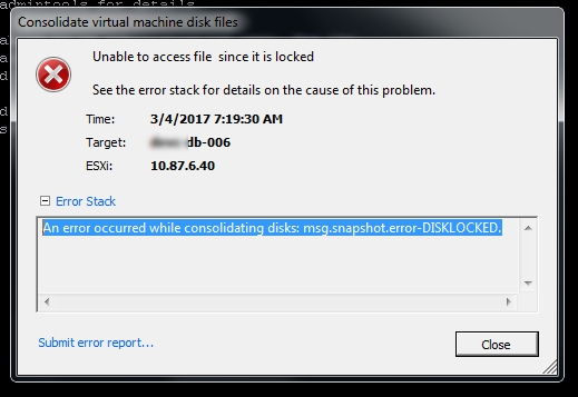 Veeam Proxy issue: Removing Veeam ghost snapshots