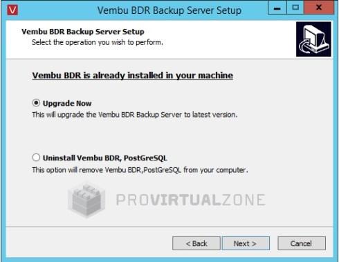 New Vembu BDR Suite 3.9.1 includes a new Standard Edition version