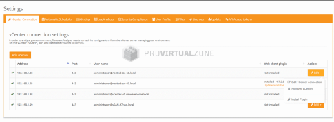 How to update your Runecast Analyser