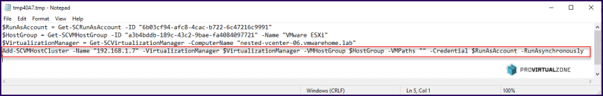 How to add and config vCenter and ESXi hosts in SCVMM 2019