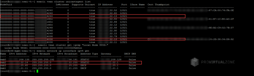How to fix vSAN Cluster hosts out of sync