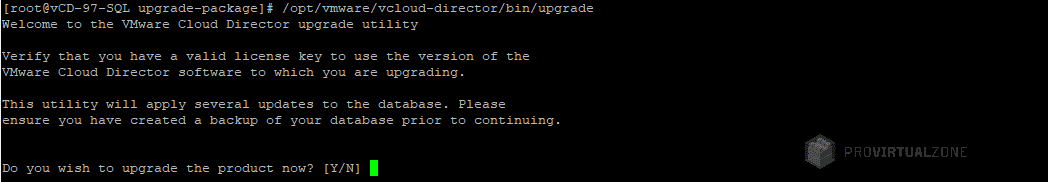 vCloud Director Linux migrate SQL DB to embedded PostgreSQL appliance - Part I