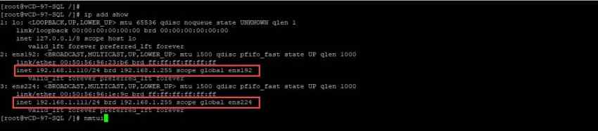 How to change the IP address in a vCloud Director