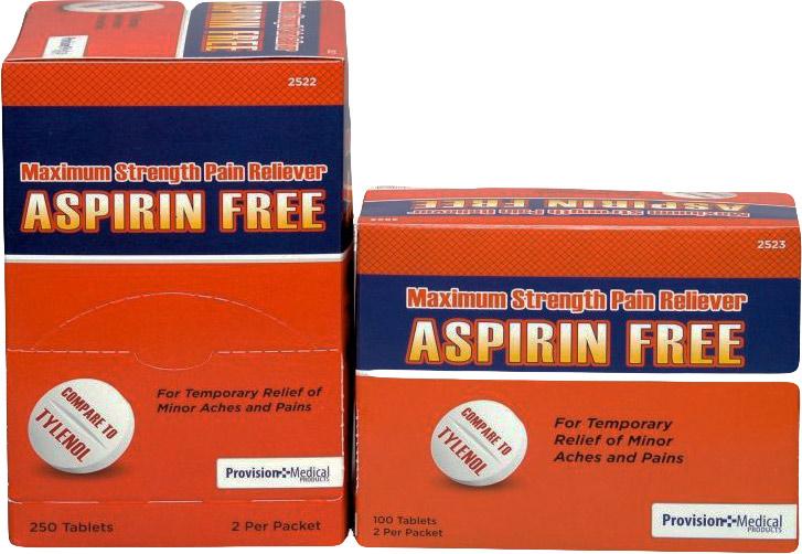 Max Non Aspirin | First Aid Kit Restocking First Aid ...