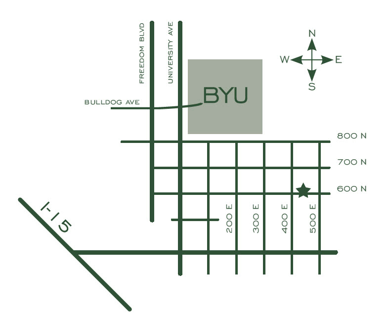 | BYU Contracted Apartments for Women - 455 E. 600 N ...