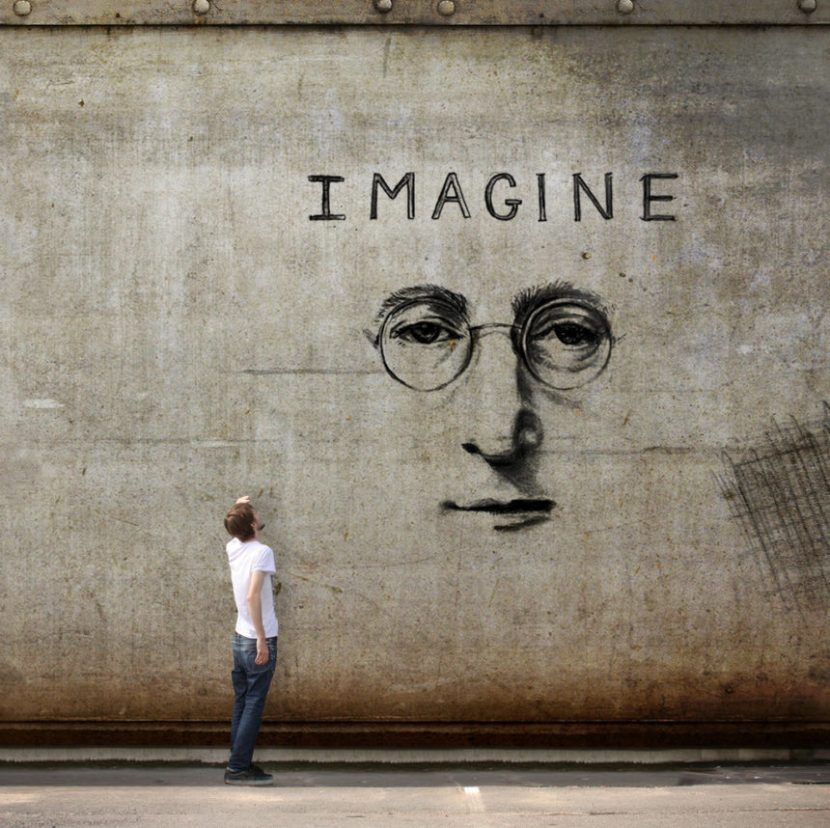 imagine, john lennon, peace, india, nirbhaya