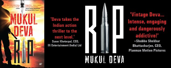 RIP, book, mukul deva, review