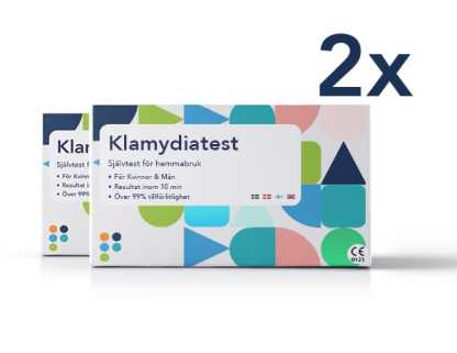 Klamydiatest-2-pack