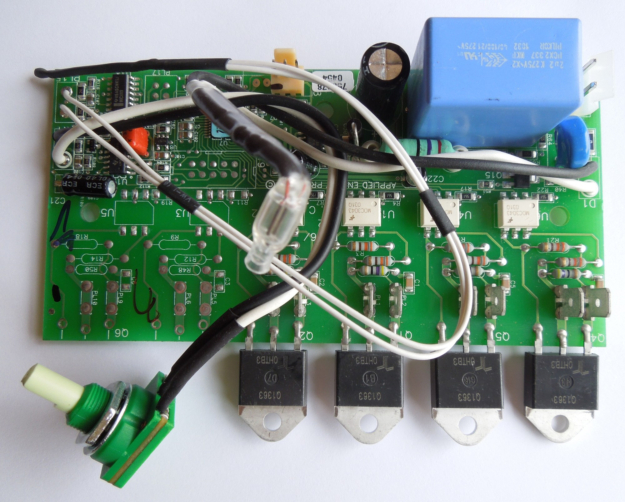 hight resolution of powerstream pro rp17pt pcb control board 93 793777 for copper can unit