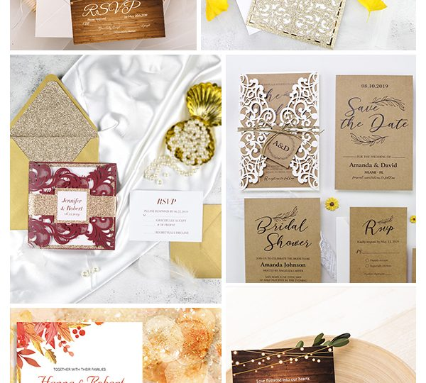 Affordable Rustic Wedding Invitations