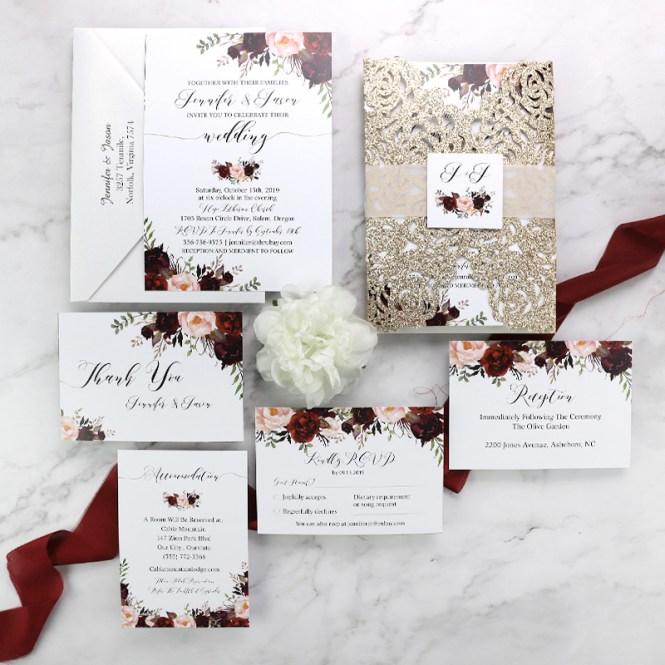 C Wedding Invitations Cobypic Com