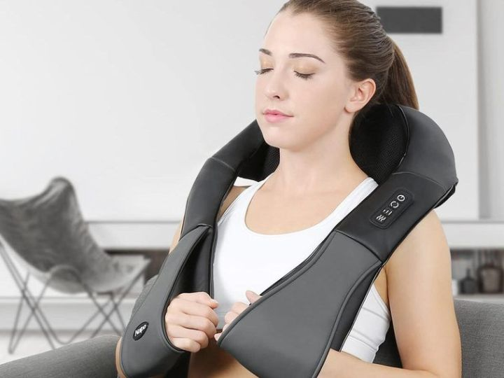 Relax with a massage: Get this neck and shoulder massager for just $30